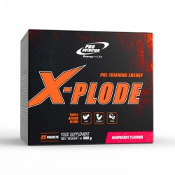 X-PLODE 25x20g PRO NUTRITION