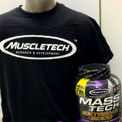 SET MASS-TECH EXTREME 2000 3,18KG+TRICOU MUSCLETECH
